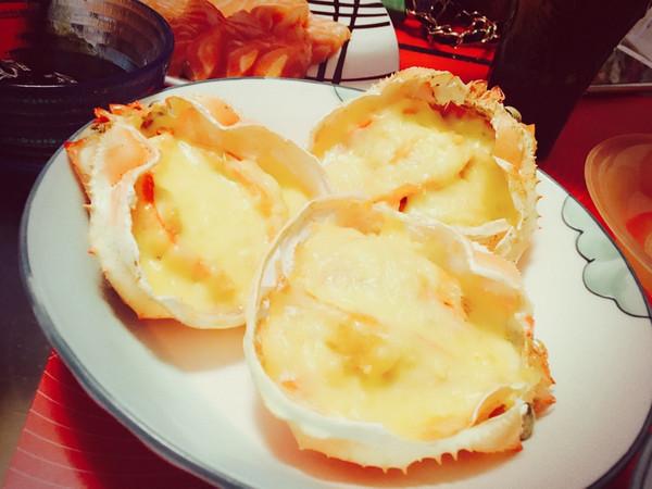 奶油芝士焗蟹斗的做法