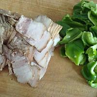 青椒回锅肉的做法图解2