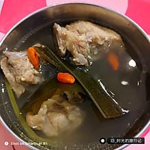 海带排骨汤,好喝又营养