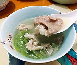 丝瓜滑肉汤的做法