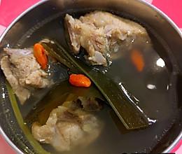 海带排骨汤,好喝又营养的做法