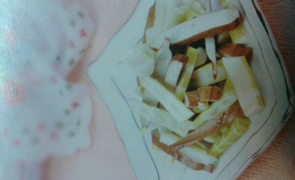 竹笋拌香干的做法