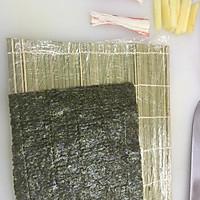 反卷寿司的做法图解1