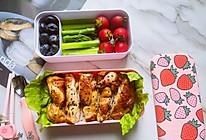 #肉食主义狂欢#健康美味的低脂鸡胸肉便当的做法
