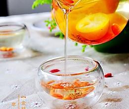 金桔桂花茶的做法