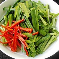 韭菜炒香干的做法图解2
