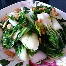 猪油渣炒小白菜