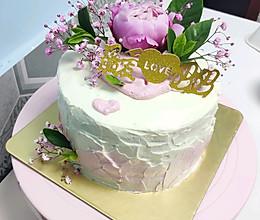 6寸母亲节蛋糕女生蛋糕生日蛋糕的做法