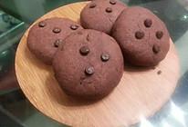 巧克力豆可可味曲奇饼干 比趣多多好吃的做法
