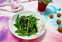 清炒菠菜梗#舌尖上的春宴#的做法