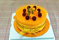 芒果镜面流心慕斯蛋糕的做法