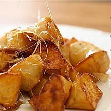#硬核菜谱制作人#甜品|拔丝苹果:你家的苹果,又有新吃法咯