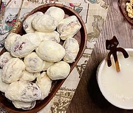 这个网红奶枣又火了自己做超简单,大人小孩都爱吃的做法