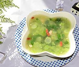 家常菜-青菜钵(青菜肉末汤)的做法