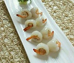 荔枝虾球的做法