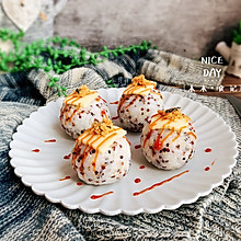 #肉食者联盟#芝士肉松饭团