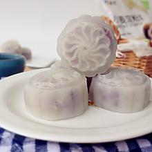 紫薯水晶饼