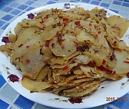 家常孜然辣炒蒜味土豆片的做法