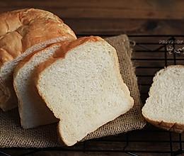 【超软庞多米】——面包机一键吐司的做法