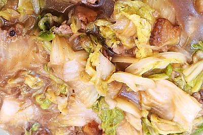 肉炒白菜片(下饭版)
