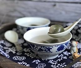 水晶Q弹抹茶汤圆的做法