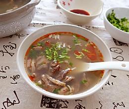 乍冷还寒,来一碗羊杂汤吧的做法