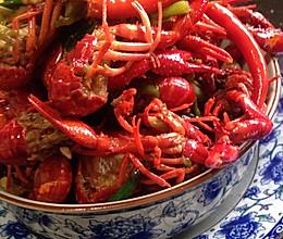 湖南夏天最正宗的口味虾的做法