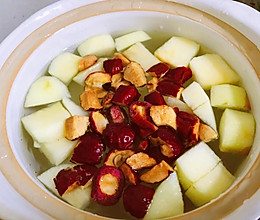 辅食日记—苹果红枣山楂水(开胃消食)的做法