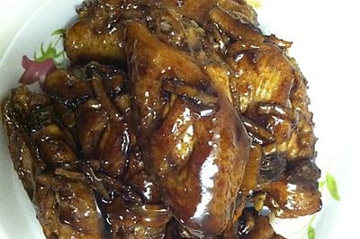 可乐鸡翅(防风寒感冒)