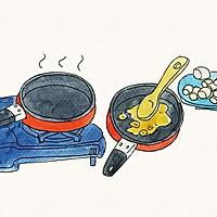 厨爱餐包——乐享牛轧糖漫画教程的做法图解3