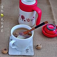 冬日润燥暖身茶 |【雪梨无花果茶】