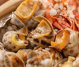 盐焗海鲜   鲜甜咸香的做法