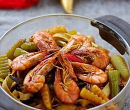 招待贵客的土家风味一锅香 —— 麻辣鲜香的海鲜麻辣香锅的做法
