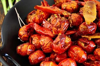 香辣小龙虾虾尾