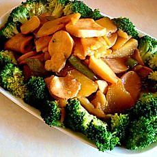 炒土豆杏鲍菇片