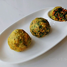 菇蛋蚝香小菜团