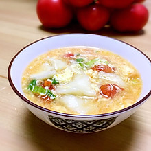 西红柿面片儿汤