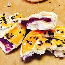 紫薯酥饼子