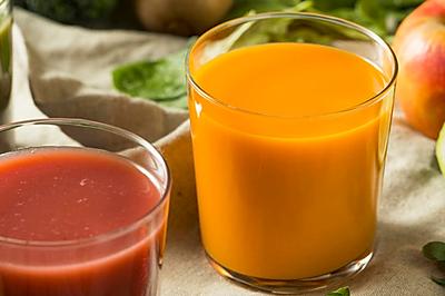 排毒清肠果蔬汁 -胡萝卜苹果黄瓜汁