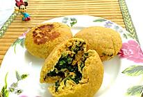 #今天吃什么#韭菜鸡蛋玉米饼的做法