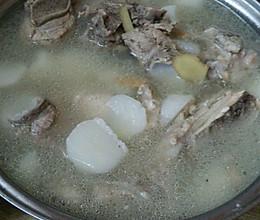 排骨山药汤的做法