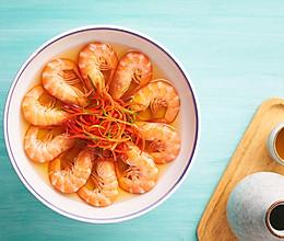 冰镇酒香基围虾的做法