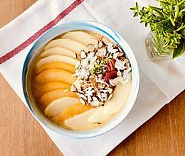 健康快手的早餐:蜜桃苹果思慕雪#一人一道拿手菜#的做法