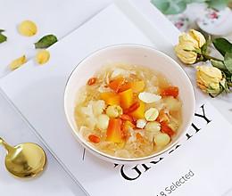 木瓜银耳莲子甜汤的做法