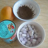 椰浆芒果芋圆的做法图解1
