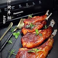 蜜汁烤羊排#松下烤箱烘焙盛宴#的做法图解10
