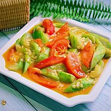 #一人一道拿手菜#番茄丝瓜