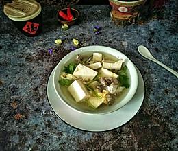 豆腐牛肉汤#节后清肠大作战#的做法