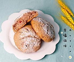 #我们约饭吧#减脂全麦面包~法式小欧包(无蛋低糖黑全麦)的做法