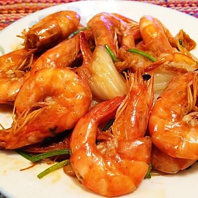 大虾烧白菜—超好吃的经典菜